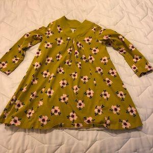 Tea Collection floral trapeze dress size 6